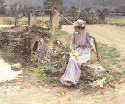 Theodore Robinson La Debacle (nn02) oil painting picture wholesale