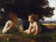 Adolphe William Bouguereau Temptation (mk26) oil painting picture wholesale