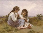 Adolphe William Bouguereau Childhood Idyll  (mk26) oil painting picture wholesale