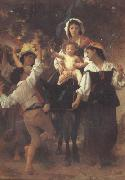 Adolphe William Bouguereau Return from the Harvest (mk26) Sweden oil painting artist