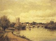 Alfred de breanski Henley-on-Thames (mk37) oil painting artist