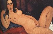 Amedeo Modigliani Reclining Nude with Loose Hair (mk39) Sweden oil painting artist