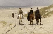 Anton mauve Riders on the Beach at Scheveningen (nn02) oil painting picture wholesale