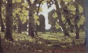 Arkhip Ivanovich Kuindzhi Birch Grove (nn02) oil painting picture wholesale