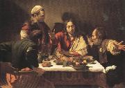 Caravaggio Supper at Emmans (mk33) oil painting picture wholesale