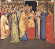 DADDI, Bernardo The Marriage of the Virgin (mk25) oil