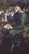 Dante Gabriel Rossetti The Day Dream (mk28) oil painting picture wholesale