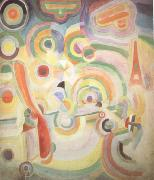 Delaunay, Robert Homage to Bleriot (nn03) oil
