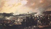 Denis Dighton The Battle of Waterloo: General advance of the British lines (mk25) oil painting artist