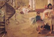 Edgar Degas The Rehearsal (nn03) oil painting picture wholesale