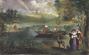 Edouard Manet La Peche (mk40) oil painting picture wholesale