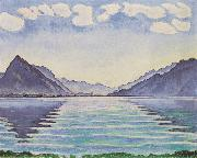 Ferdinand Hodler Lake Thun (nn03) oil painting picture wholesale
