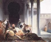 Francesco Hayez Interno di Harem (mk32) oil painting artist