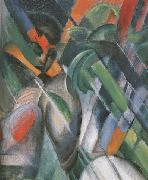 Franz Marc Details of Rain (mk34) oil painting picture wholesale