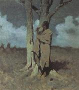 Frederic Remington The Love Call (mk43) oil painting picture wholesale