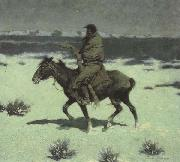 Frederic Remington The Luckless Hunter (mk43) oil painting picture wholesale