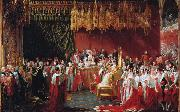 George Hayter The Coronation of Queen Victoria (mk25) oil painting artist