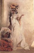 Georges Clairin Deux femmes Ouled-Naiil (mk32) oil painting artist