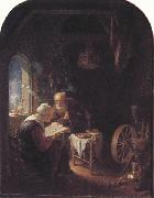 Gerrit Dou Tobit and Anna (mk33) oil painting picture wholesale