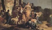 Giovanni Battista Tiepolo The Finding of Moses (nn03) oil painting picture wholesale