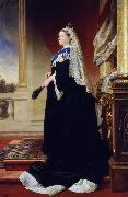 Heinrich von Angeli Queen Victoria (Empress of India) (mk25) oil painting artist