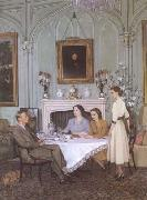 James Gunn Tea at Royal Lodge (mk25 oil painting picture wholesale