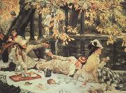 James Tissot Holiday (The Picnic) (nn03) oil painting picture wholesale