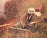 John Singer Sargent Paul Helleu Sketching with his Wife (nn03) oil painting picture wholesale