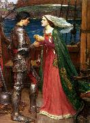 John William Waterhouse Tristram and Isolde (mk41) oil painting picture wholesale