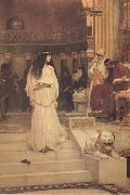 John William Waterhouse Mariamne leaving the Judgement Seat of Herod (mk41) oil painting picture wholesale