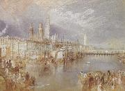 Joseph Mallord William Turner Rouen,looking up the Seine (mk31) oil painting picture wholesale