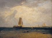 Joseph Mallord William Turner Fishing upon Blythe-sand,tide setting in (mk31) oil painting picture wholesale