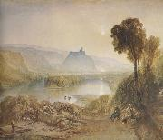 Joseph Mallord William Turner Prudhoe Castle,Northumberland (mk31) oil painting picture wholesale