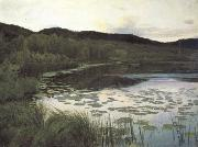 Kitty Kielland Summer Night (nn02) oil painting picture wholesale