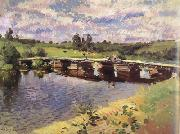 Konstantin Korovin Country Village (nn02) oil painting picture wholesale