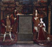 Leemput, Remigius van Henry VII and Elizabeth of York (mk25) oil painting artist
