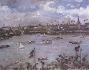 Lovis Corinth Emperor's Day in Hamburg (nn02) oil painting artist