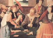 Lucas van Leyden The Card Players (nn03) oil painting picture wholesale