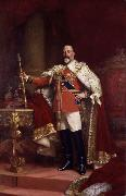 Luke Fildes Edward VII (mk25) oil painting artist