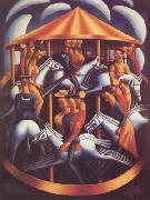 Mark Gertler The Merry-Go-Round (nn03) oil painting picture wholesale