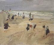 Max Liebermann Beach Seach Scene at Nordwijk (nn02) oil painting picture wholesale