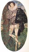 Nicholas Hilliard Young Man Leaning Against a Tree (nn03) oil painting artist