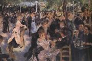Pierre-Auguste Renoir Ball at the Moulin de la Galette (nn03) oil painting picture wholesale