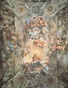 Pietro da Cortona Giorification of the Rule of Urban Vii (nn03) oil painting picture wholesale