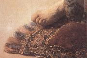 REMBRANDT Harmenszoon van Rijn Detail of Feremiab lamenting the Destrution of Ferusalem (mk33) oil painting picture wholesale