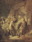 REMBRANDT Harmenszoon van Rijn Foseph Recounting his Dream (mk33_) oil painting picture wholesale