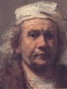 REMBRANDT Harmenszoon van Rijn Self-Protrait (mk33) oil painting picture wholesale