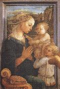 Sandro Botticelli Filippo Lippi.Madonna with Child and Angels or Uffizi Madonna (mk36) oil painting picture wholesale