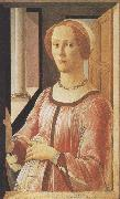 Sandro Botticelli Portrait of Smeralda Brandini (mk36) oil painting picture wholesale