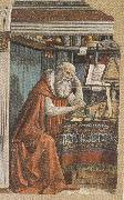 Sandro Botticelli Domenico Ghirlandaio,St Jerome in his Study (m,k36) oil painting picture wholesale